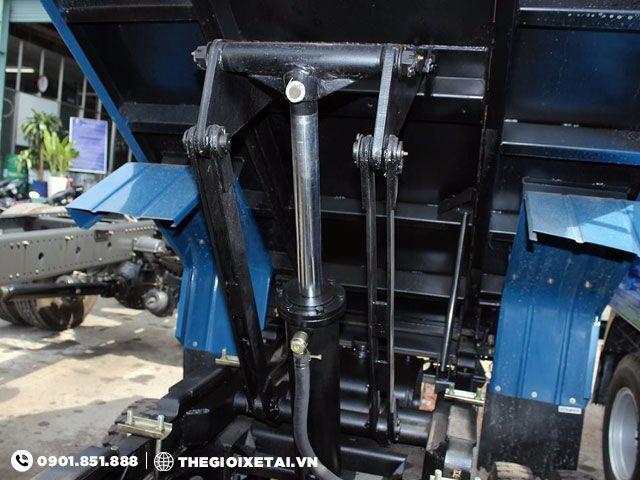 Hệ thống nâng bên chữ A xe ben Veam VB125
