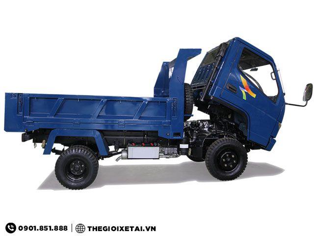 Xe tải tự đổ Veam VB125 1t25 cabin lật