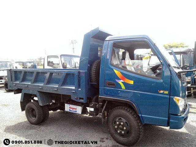 Xe tải tự đổ Veam VB150 1.5 tấn