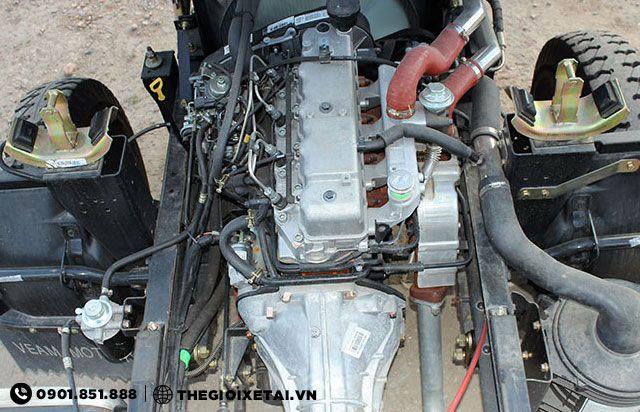 Hộp số 5 cấp xe ben veam VB350 3.5 tấn