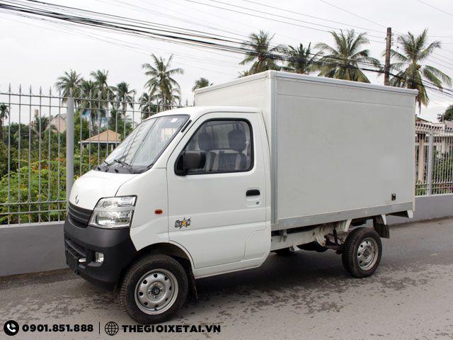 Xe tải Changan thùng kín 753kg