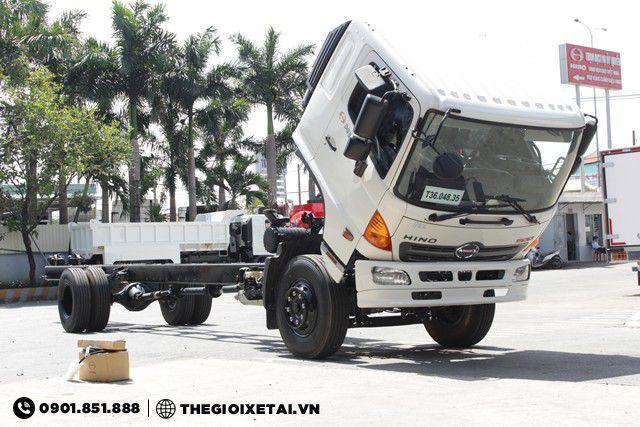 Cabin lật xe tải Hino FG