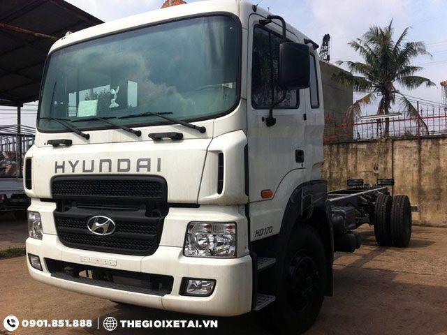 Xe tải Hyundai HD170 8.5 tấn chassis