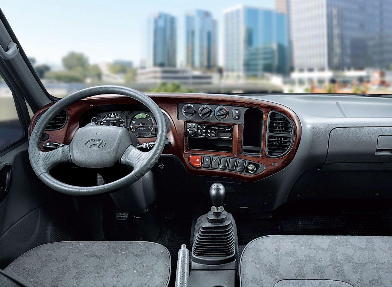 Nội thất xe tải Hyundai HD65 2.5 tấn