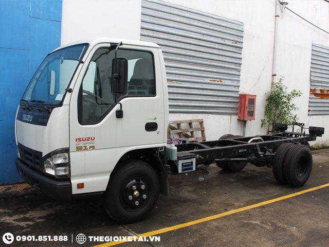 Hệ thống khung gầm chassis xe tải Isuzu QKR55F