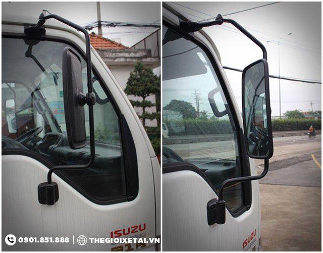 Gương chiếu hậu xe tải isuzu 1.9 tấn mui bạt