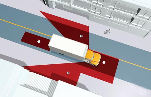 4 mối nguy tài xế cần nhớ khi đi cạnh xe container