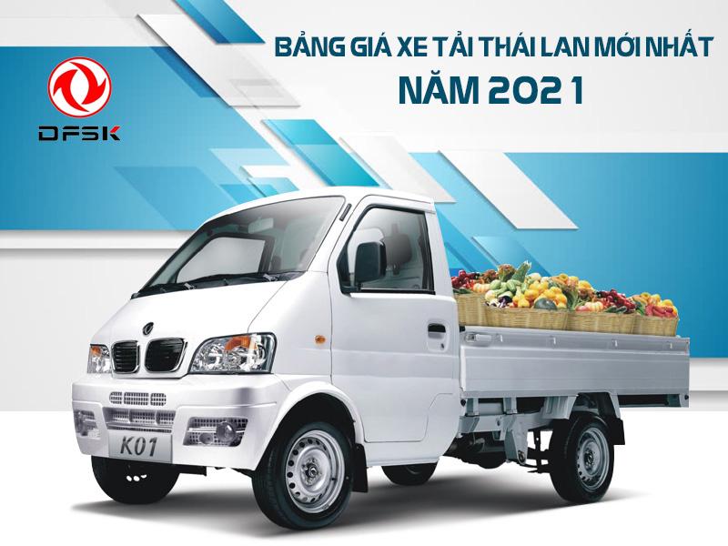 Giá Xe Tải Thái Lan DFSK