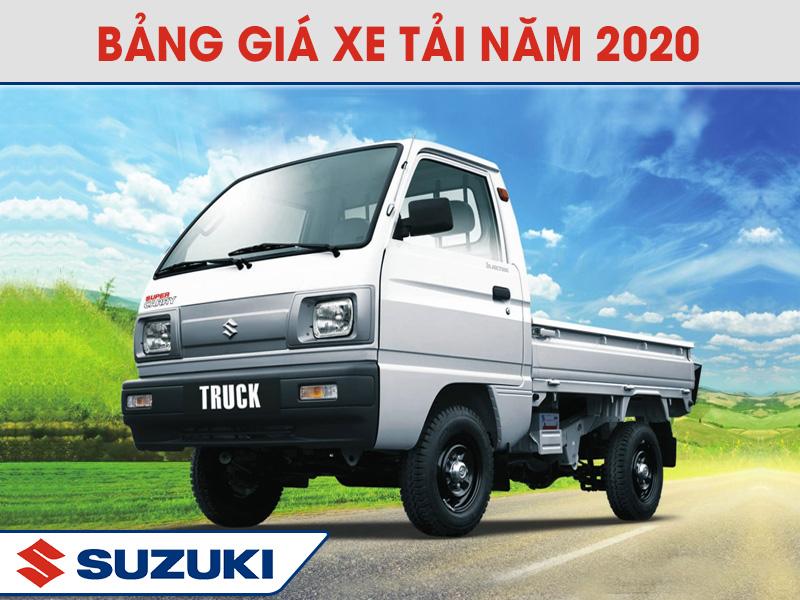 Giá Xe Tải Suzuki