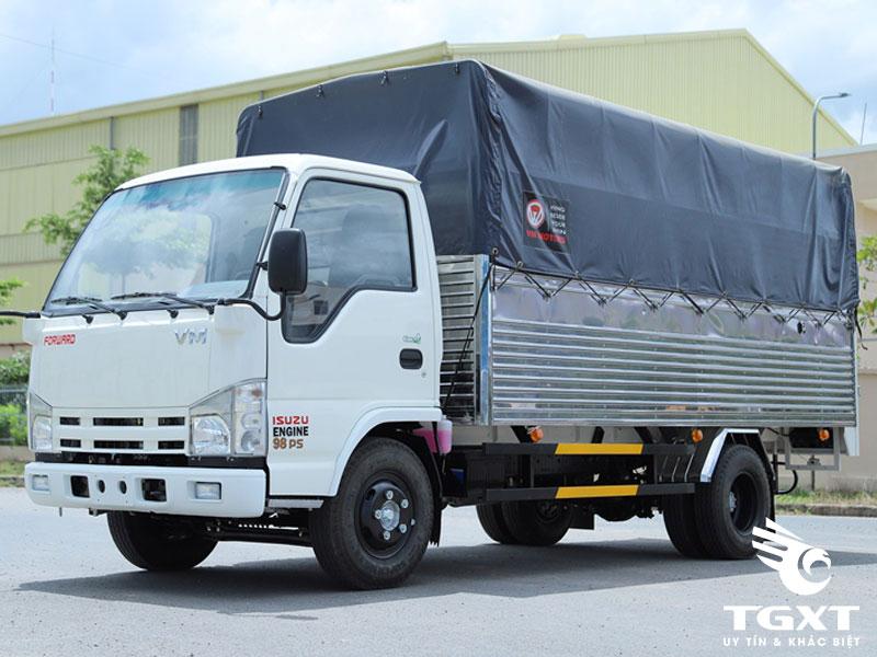 Xe Tải Isuzu Vĩnh Phát NK490L4 2T3 Thùng Mui Bạt